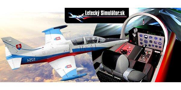 Letecký simulátor Albatros L-39