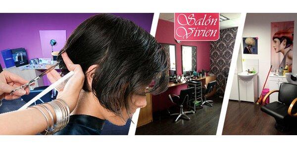 Strihanie, farbenie, melír a regenerácia vlasov