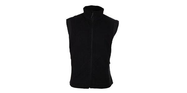 Pánska čierna softshellová vesta Trimm Drill