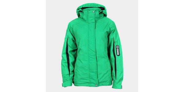 Dámska zelená funkčná bunda Sweep