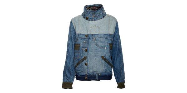 Dámska džínsová bunda so stojáčikom Desigual