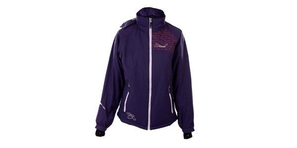 Dámska fialová funkčná zimná bunda Hannah