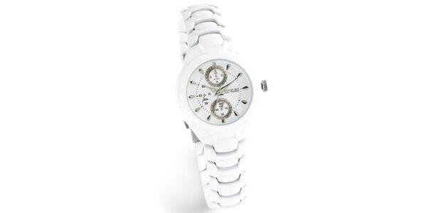 Dámske biele hodinky Bague a Dames