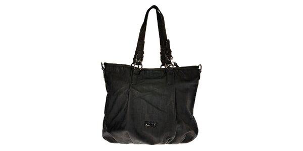 Dámska velká čierna kabelka Elle