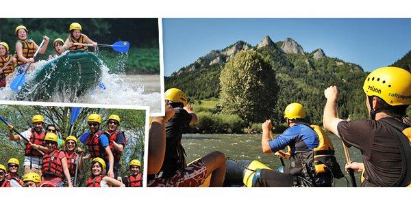 Rafting na rieke Dunajec