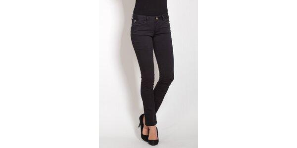 Dámske čierne džínsy Lois