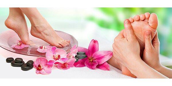 Relaxačná mokrá pedikúra s masážou