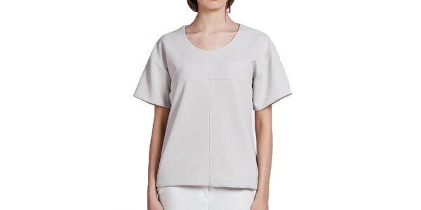 Dámske krémově biele tričko Lanti