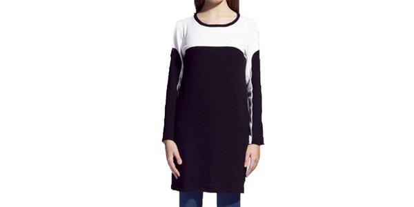 Dámske čierno-biele šaty Lanti