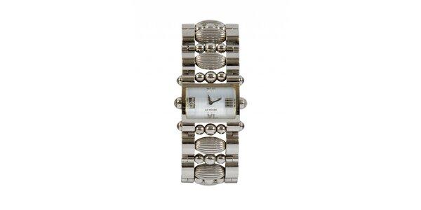 Dámske oceľové hodinky Gianfranco Ferré s ozdobným remienkom a strieborným…