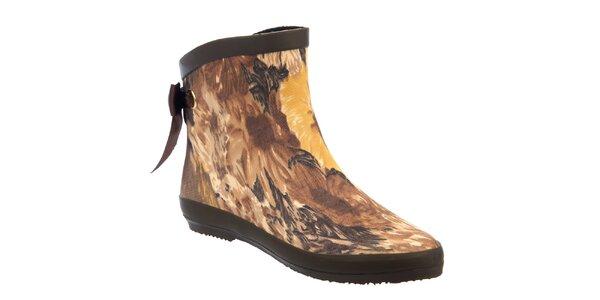 Dámske matné vzorované topánky Keddo