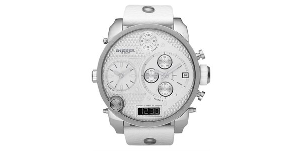 Pánske analógovo-digitálne hodinky Diesel s chronografom