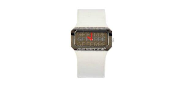 Dámske biele hodinky Gianfranco Ferré s bielym lakovaným remienkom