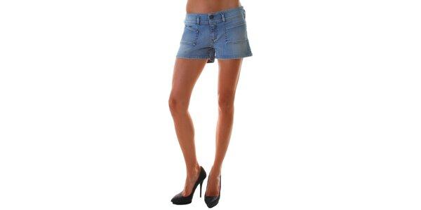 Dámske krátke džínsové šortky Diesel