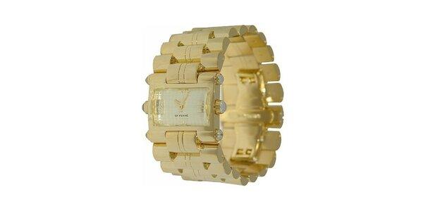 Dámske zlaté hodinky Gianfranco Ferré