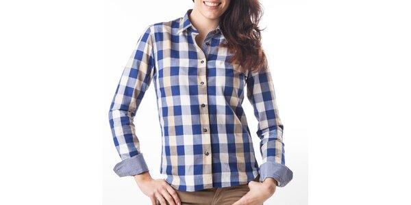 Dámska modro-ružová kockovaná košeľa Lexa Slater