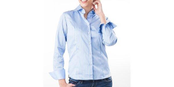Dámska modro-biela prúžkovaná košeľa Lexa Slater