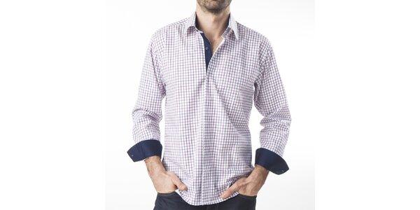 Pánska károvaná košeľa s dlhým rukávom Lexa Slater