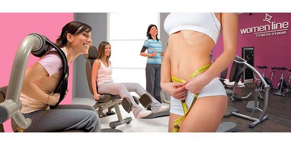 Permanentka do ženského fitness centra