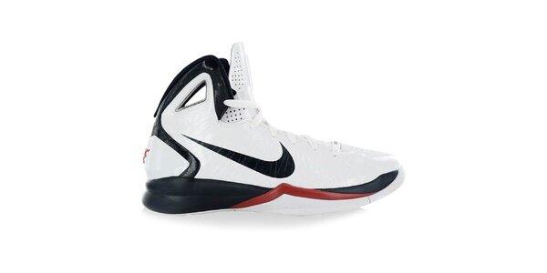 Pánske biele basketbalové tenisky Nike