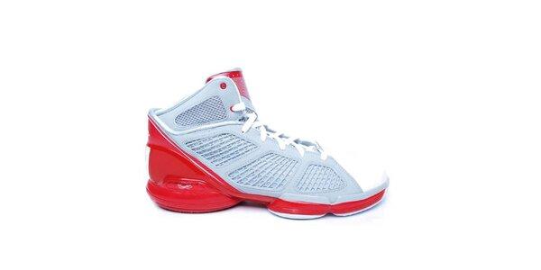 Pánske červeno-modré topánky Adidas