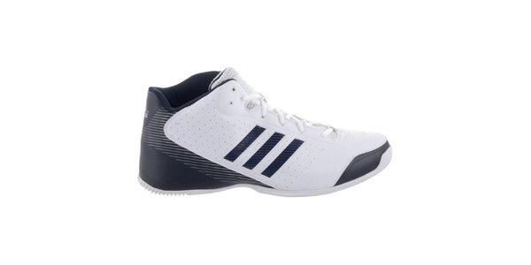 Pánske čierno-biele topánky Adidas