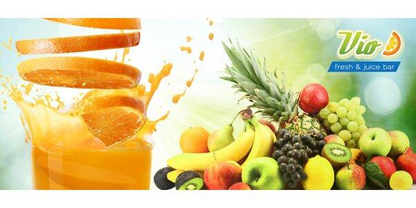 Čerstvé 100 % FRESH ovocné drinky