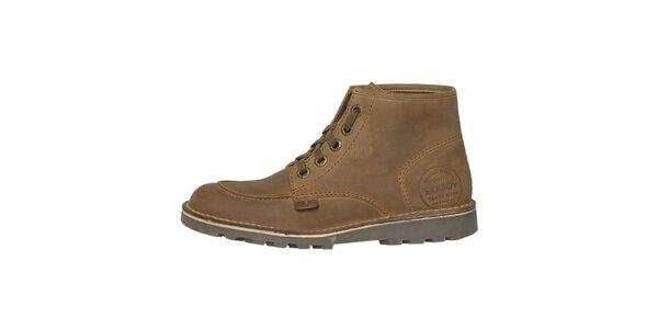 Dámske béžové členkové topánky Buggy