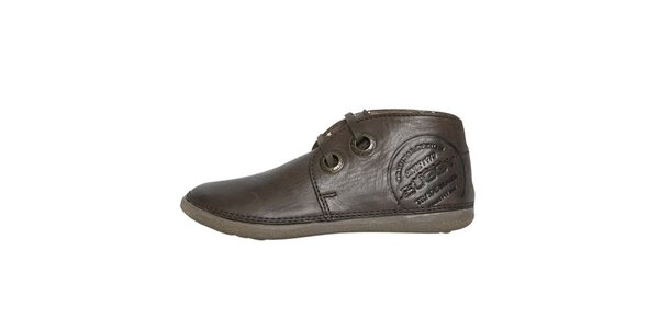 Dámske nízke hnedé topánky Buggy