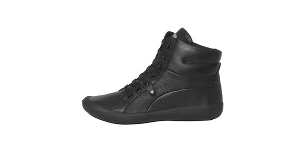 Dámske čierne šnurovacie topánky Buggy