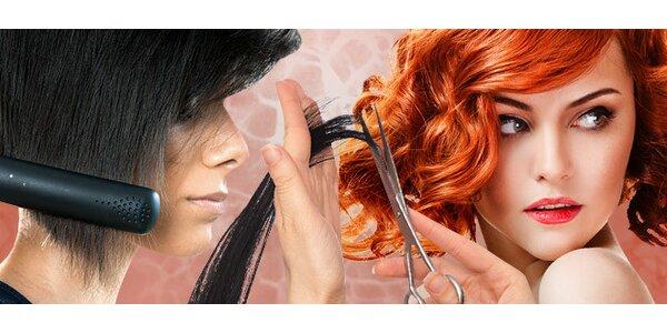 Strihanie vlasov so stylingom