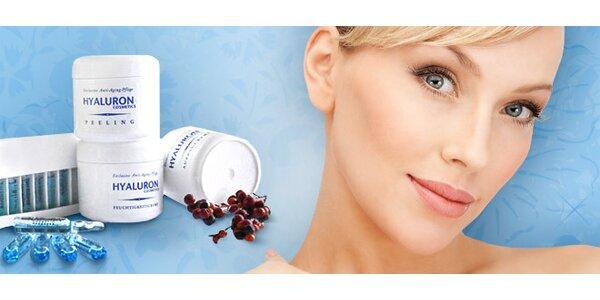Hyalurónová kozmetika proti vráskam