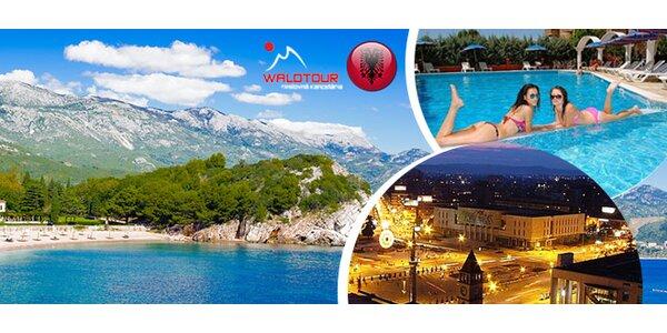 Albánsko na 8 dní aj s polpenziou