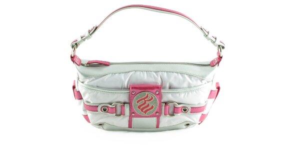 Dámska malá bielo-ružová kabelka Rocawear