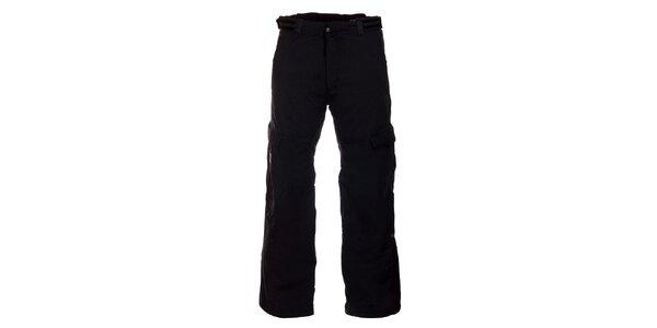 Pánske čierne lyžiarske nohavice Hannah