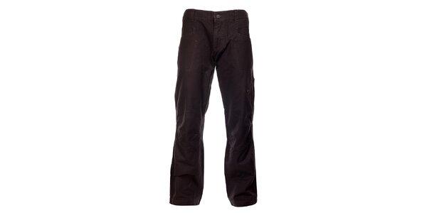 Pánske dymovo šedé bavlnené nohavice Hannah