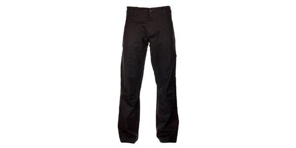 Pánske tmavo šedé bavlnené nohavice Hannah
