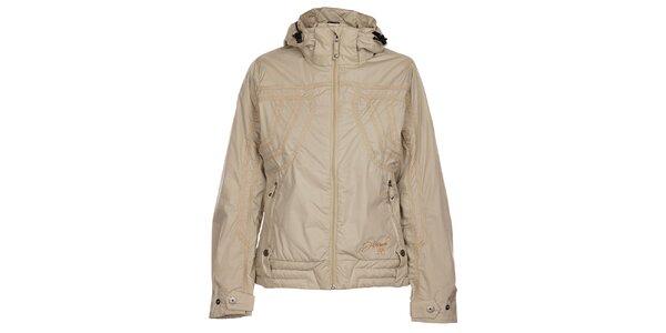 Dámska krémová zimná bunda Hannah