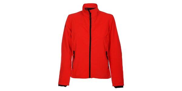 Dámska červená softshellová bunda Hannah