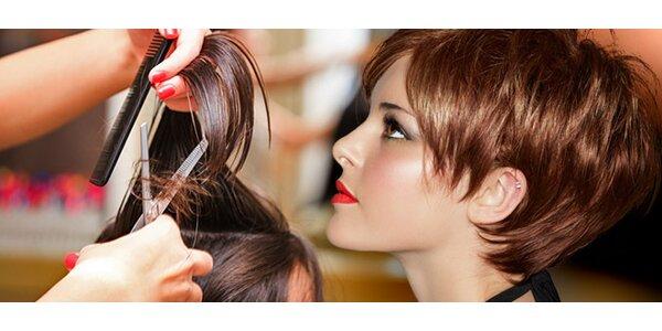 Jarný moderný strih vlasov so stylingom