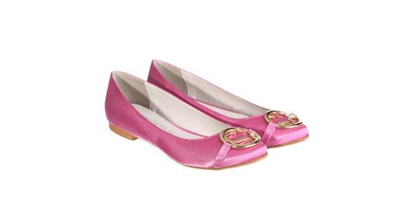 Dámske ružové balerínky Miss Roberta