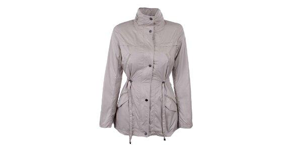Dámsky smotanový kabátik so stojačikom Company&Co