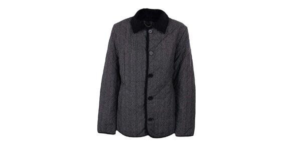 Dámsky šedý jednoradý kabát Company&Co