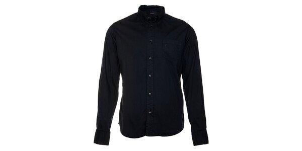 Pánska tmavo modrá košeľa Freesoul