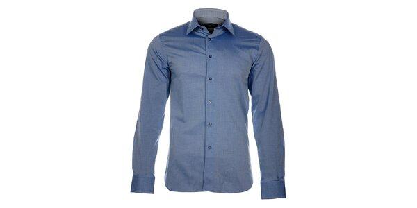Pánska modro-šedá košeľa Calvin Klein