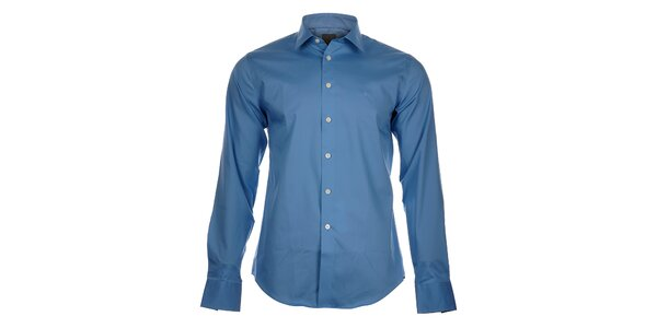 Pánska modrá košeľa Calvin Klein