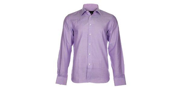 Pánska svetlo fialová košeľa Calvin Klein