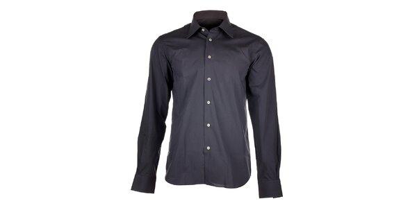 Pánska šedá košeľa Calvin Klein