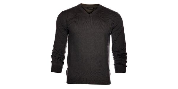 Pánsky šedý sveter Calvin Klein
