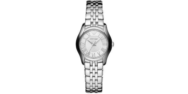 Dámske strieborné hodinky Emporio Armani